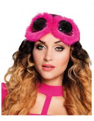 Occhiali Fantasy rosa per donna Steampunk