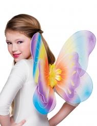 Ali da Farfalla multicolore 40 x 50 cm bambina