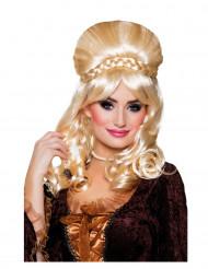 Parrucca da nobildonna bionda per donna