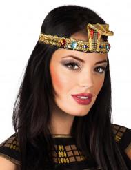 Corpicapo egiziano con finte pietre preziose per donna