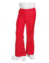 Pantaloni disco rossi per uomo