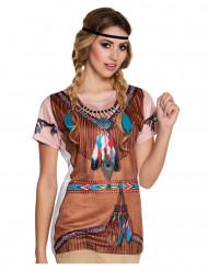 T-shirt indiana donna