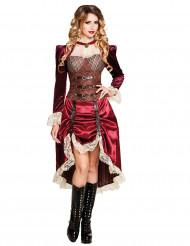 Costume da Capitano Steampunk per donna