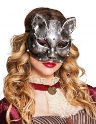 Maschera gatta adulti Steampunk