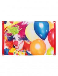 Bandiera Clown Party 60 x 90 cm