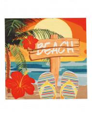 12 Tovaglioli in carta Beach Party 33 x 33 cm