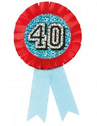 Coccarda per compleanno 40 anni