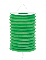 12 Lanterne verdi in carta 20 cm