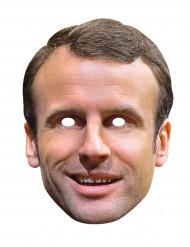Maschera di Emmanuel Macron