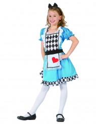 Costume da bambina di cuori