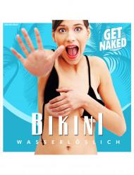 Bikini solubile nero per donna