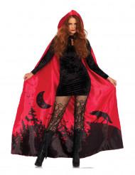 Mantello deluxe rosso per donna