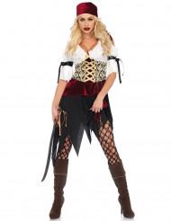 Costume da bucaniere pirata donna