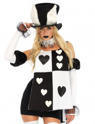 Costume da maestra delle carte per donna