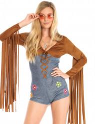 Costume Miss Sexy Hippie per donna