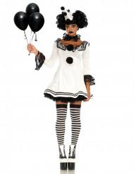 Costume da Pierrot sexi per donna