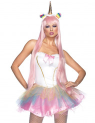 Costume da unicorno fatato luminoso per donna