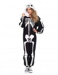 Costume scheletro donna per Halloween