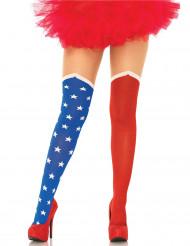 Calze opache bandiera americana