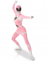 Costule seconda pelle Power Rangers™ rosa per donna