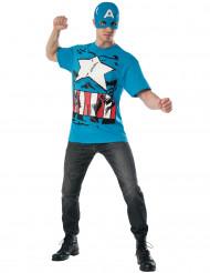 Kit per travestimento da Capitan America™ per adulto