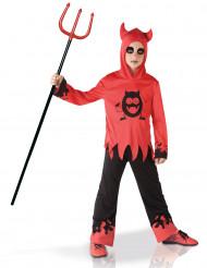 Costume da diavolo con occhi mobili per bambino