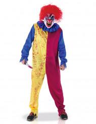 Costume da clown psicopatico adulto