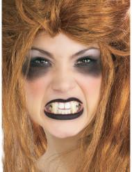 Denti canini da vampiro per adulto
