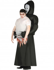 Costume tronco umano portato dalla morte adulto halloween