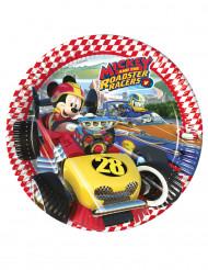 8 Piatti a tema Topolino Racing™