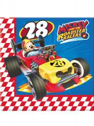 20 tovaglioli di carta Topolino racing™