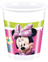 8 Bicchieri in plastica Minnie Happy™