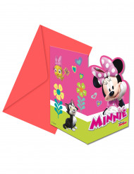 6 Inviti e buste da lettera Minnie Happy™