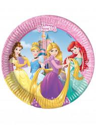 8 Piattini di carta Principesse Disney™