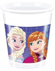 8 bicchieri in plastica Frozen™ viola