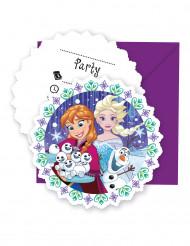6 Inviti + buste Frozen™