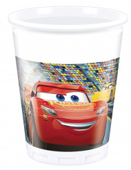 8 Bicchieri in plastica 200 ml Cars 3™
