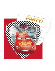 6 inviti e buste Cars 3™