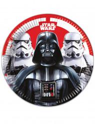 8 Piatti di carta Star WArs FInal Battle™