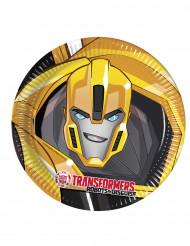 8 piatti di carta Transformers RID™