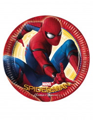 8 Piatti in cartone Spiderman Homecoming™ 23 cm