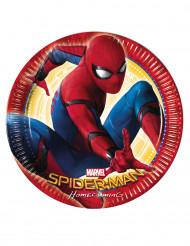 8 Piatti in cartone Spiderman Homecoming™ 23 cm