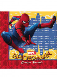 20 Tovaglioli in carta Spiderman Homecoming™