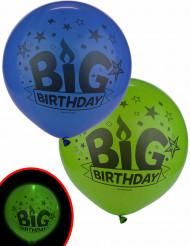 2 palloncini led Big Birthday illoms™²