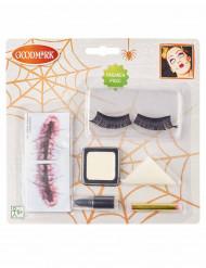 Kit trucco bambola inquietante per donna halloween