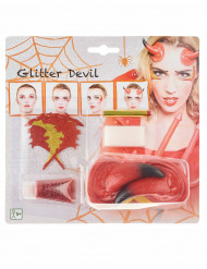 Kit trucco demone donna halloween