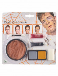 Kit trucco peste bubbonica adulto halloween