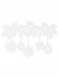 Decorazioni per finestre fiocchi di neve