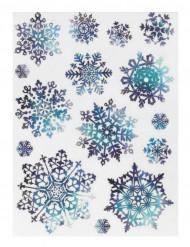 15 decorazioni per finestra a fiocco di neve 27 x 20 cm