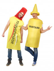 Costume di coppia maionese e senape